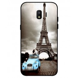 Durable Paris Eiffel Tower Cover For Samsung Galaxy J2 Pro 2018