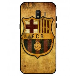 Durable FC Barcelona Cover For Samsung Galaxy J2 Pro 2018