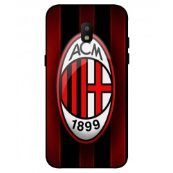 Durable AC Milan Cover For Samsung Galaxy J2 Pro 2018