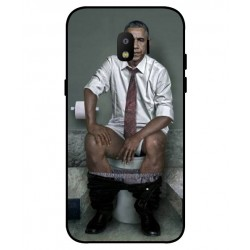 Durable Obama On The Toilet Cover For Samsung Galaxy J2 Pro 2018
