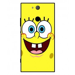 Durable SpongeBob Cover For Sony Xperia XA2
