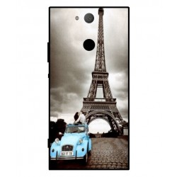 Durable Paris Eiffel Tower Cover For Sony Xperia XA2