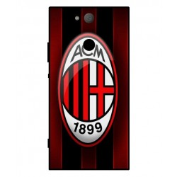 Durable AC Milan Cover For Sony Xperia XA2