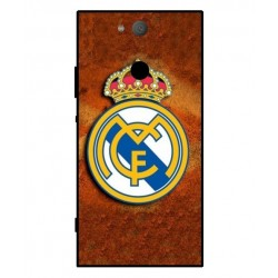 Durable Real Madrid Cover For Sony Xperia XA2