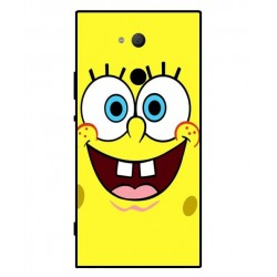 Durable SpongeBob Cover For Sony Xperia XA2 Ultra