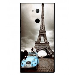 Durable Paris Eiffel Tower Cover For Sony Xperia XA2 Ultra