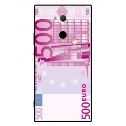 Durable 500 Euro Note Cover For Sony Xperia XA2 Ultra