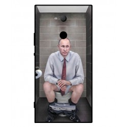 Durable Vladimir Putin On The Toilet Cover For Sony Xperia XA2 Ultra