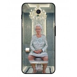 Durable Queen Elizabeth On The Toilet Cover For Meizu M6s