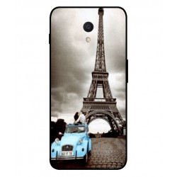 Durable Paris Eiffel Tower Cover For Meizu M6s