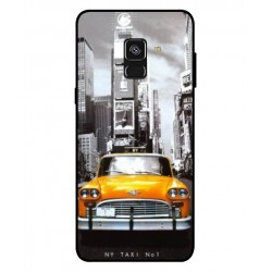 Durable New York Cover For Samsung Galaxy A8 2018