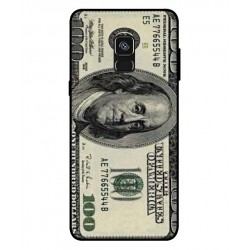 Durable 100 Dollar Note Cover For Samsung Galaxy A8 Plus 2018