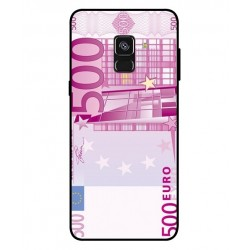 Durable 500 Euro Note Cover For Samsung Galaxy A8 Plus 2018