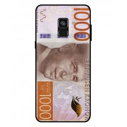Durable 1000Kr Sweden Note Cover For Samsung Galaxy A8 Plus 2018