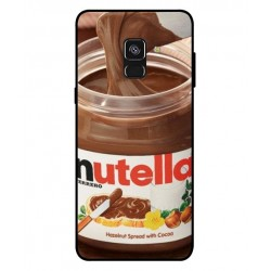 Durable Nutella Cover For Samsung Galaxy A8 Plus 2018