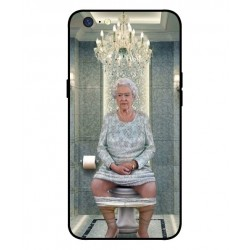 Durable Queen Elizabeth On The Toilet Cover For Oppo A71 2018