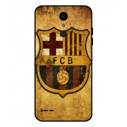 Durable FC Barcelona Cover For LG Aristo 2