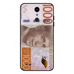 Durable 1000Kr Sweden Note Cover For LG Aristo 2