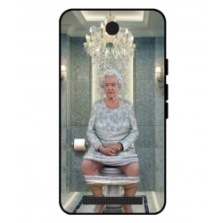 Durable Queen Elizabeth On The Toilet Cover For Archos Access 40 3G