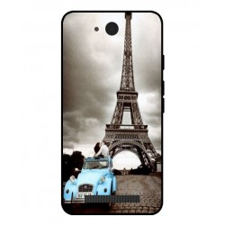 Durable Paris Eiffel Tower Cover For Archos Access 45 4G