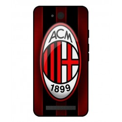 Durable AC Milan Cover For Archos Access 45 4G