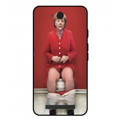 Durable Angela Merkel On The Toilet Cover For Archos Access 45 4G