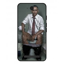 Durable Obama On The Toilet Cover For Archos Access 45 4G