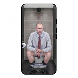 Durable Vladimir Putin On The Toilet Cover For Archos Access 45 4G