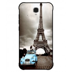 Durable Paris Eiffel Tower Cover For Archos Sense 47X