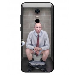 Durable Vladimir Putin On The Toilet Cover For Xiaomi Redmi Note 5