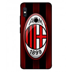 Durable AC Milan Cover For Xiaomi Redmi Note 5 Pro