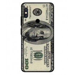 Durable 100 Dollar Note Cover For Xiaomi Redmi Note 5 Pro