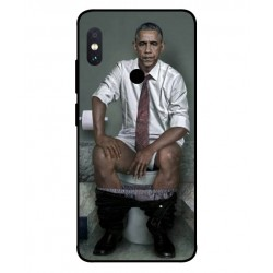 Durable Obama On The Toilet Cover For Xiaomi Redmi Note 5 Pro