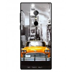 Durable New York Cover For Alcatel 5
