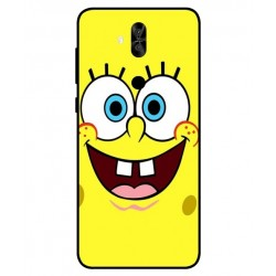 Durable SpongeBob Cover For Asus Zenfone 5 Lite ZC600KL