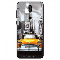 Durable New York Cover For Asus Zenfone 5 Lite ZC600KL