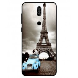 Durable Paris Eiffel Tower Cover For Asus Zenfone 5 Lite ZC600KL