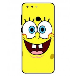 Durable SpongeBob Cover For ZTE Blade V9