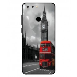 Durable London Cover For ZTE Blade V9