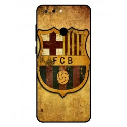 Durable FC Barcelona Cover For ZTE Blade V9