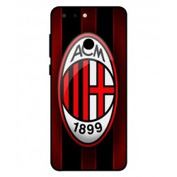 Durable AC Milan Cover For ZTE Blade V9