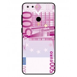 Durable 500 Euro Note Cover For ZTE Blade V9