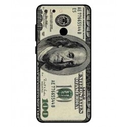 Durable 100 Dollar Note Cover For ZTE Blade V9