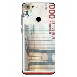 1000 Danish Kroner Note Cover For ZTE Blade V9