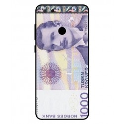 1000 Norwegian Kroner Note Cover For ZTE Blade V9