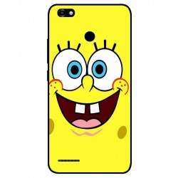 Durable SpongeBob Cover For ZTE Blade A3