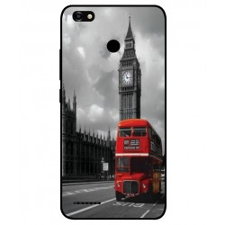 Durable London Cover For ZTE Blade A3