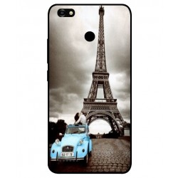 Durable Paris Eiffel Tower Cover For ZTE Blade A3