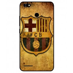 Durable FC Barcelona Cover For ZTE Blade A3