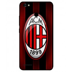 Durable AC Milan Cover For ZTE Blade A3